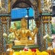 Buddhist temple detail -Bangkok Thailand — Stock Photo