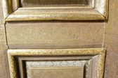 Islamic art patterns on a mosque door — Stockfoto