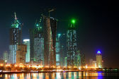 Doha - The capital city of Qatar - night — 图库照片