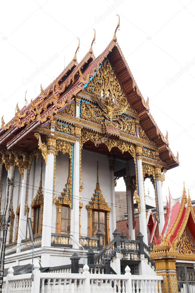 Bangkok Thailand -  Buddhist temple  Stock Photo #2220726
