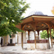 Sarajevo - Mosque courtyard - Stock Photo