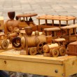 Wooden toys — Stock Photo