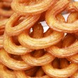 Turkish traditional sweet rings — Stock Photo
