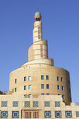 Minaret of islamic center in Doha Qatar — Stock Photo