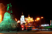 Kiev - Ukraine - night scene — Stock Photo