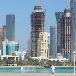 Doha - The capital city of Qatar — Stock Photo