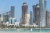Doha - The capital city of Qatar — Stock fotografie