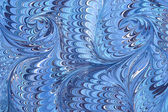 Marbled paper artwork background — Stock Photo