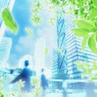 Environment and the future — Stock Photo