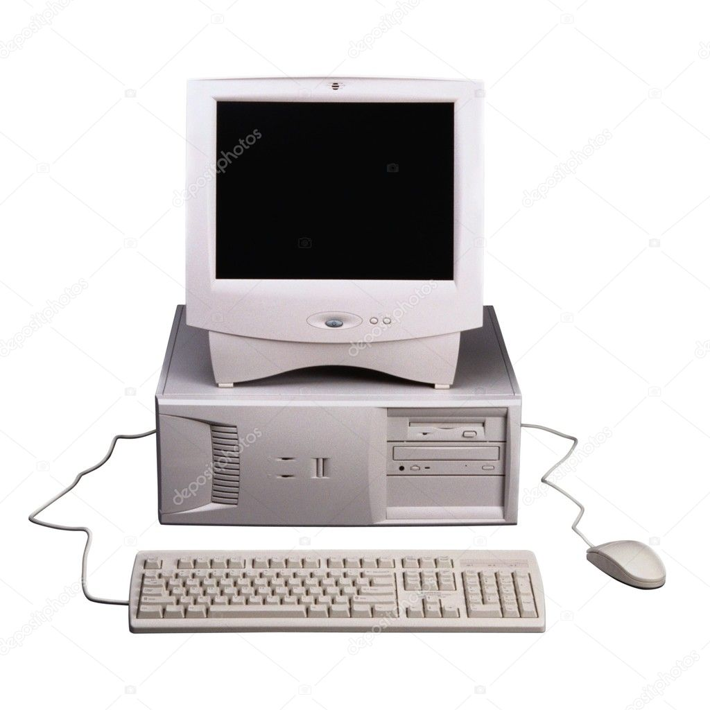 Isolated computers — Stock Photo #2549394