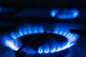 Gas cooker — Stockfoto