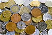 Few coins — Stock Photo