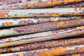 Few rusty nails — Stock Photo