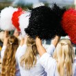 Cheerleader — Stock Photo