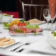 Served table — Stock Photo #2006235