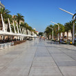 Stock Photo: Split esplanade