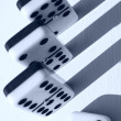 Dominoes abstract — Stock Photo