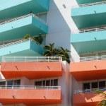 Colorful balconies — Stock Photo #2048780