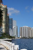 Buildings on Biscayne Bay — Stock Photo