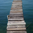 The old dock - Stock Photo