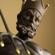 Stock Photo: God Neptune statue