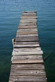 The old dock — Stock Photo