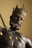 God Neptune statue — Stock Photo