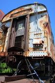 Antique train wagon — Stock Photo