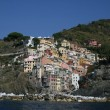 Coastal town in Italy — Stock Photo