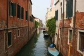 View of the canal — Stock Photo