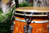 Caribbean style conga drum — Stock Photo