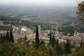 Rooftops of the town of Assisi — Stock Photo