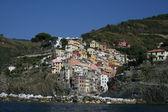 Coastal town in Italy — Stock Photo