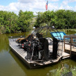 Stock Photo: Airboats on Everglades