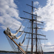 Stock Photo: Historic sailboat