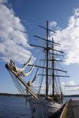 Historic sailboat — Stock Photo