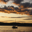Oslo sunset — Stock Photo