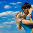 Young beautiful couple - Stock Photo