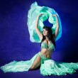 Belly dancer — Stock Photo #2132831