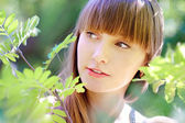 Menina de verão — Fotografia Stock