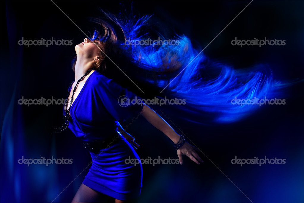 Dancing girl. — Stock Photo #2132709