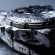 Wet wrist watch — Stock Photo