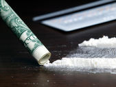 Cocaine — Stock Photo