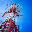 Telecommunication tower - Stockfoto