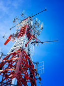 Telecommunication tower — Stockfoto