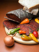 Kulen sausage — Stock Photo