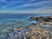 Adriatic coastline — Stock Photo