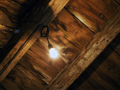 Light in the attic — Stock Photo