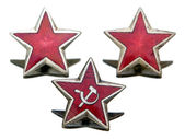 Communist stars — Stock Photo