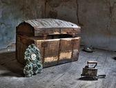 No sótão — Foto Stock